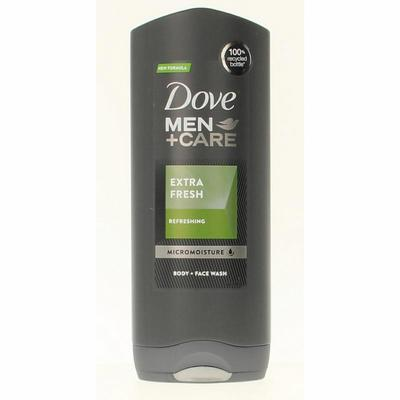 Dove Men+Care Showergel Body And Face Extra Fresh 400ml