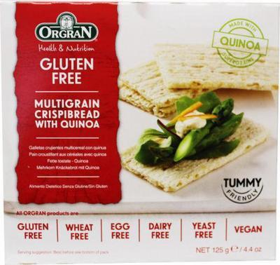 Orgran Crispybread quinoa 125g