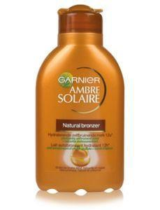Garnier Ambre solaire perfect bronzeur milk 150ml