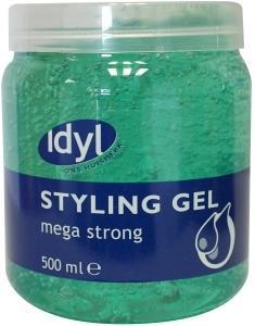 Idyl Huismerk Haargel Mega Strong 500ml