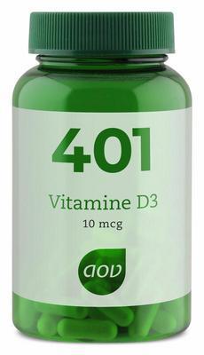 AOV 401 Vitamine D 10 mcg 60cap