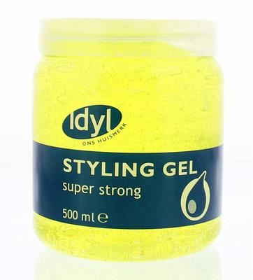 Idyl Huismerk Haargel Super Strong 500ml