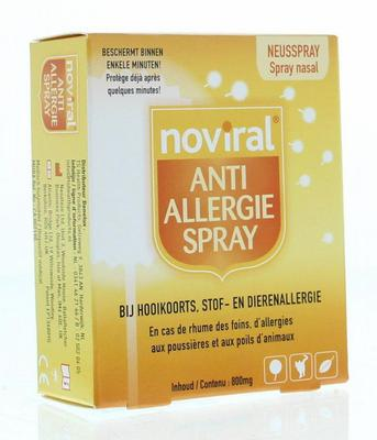 Noviral Noviral anti allergie spray 800mg