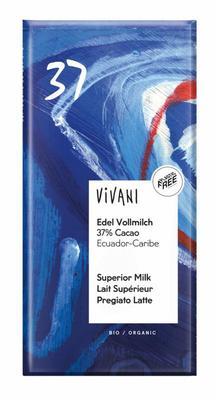 Vivani Chocolade melk Ecuador 100g