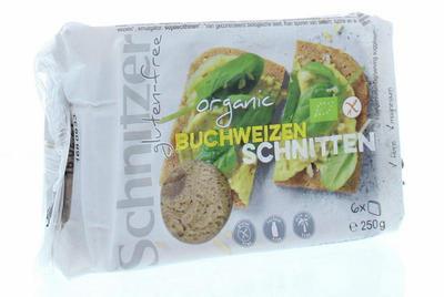Schnitzer Boekweitbrood glutenvrij 250g