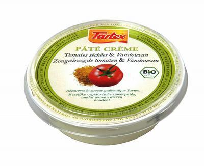 Tartex Pate creme zongedroogde tomaat 75g