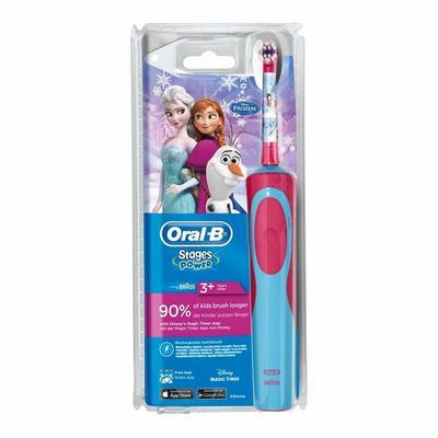 Oral B Elektrische tandenborstel kids vitality frozen 1st
