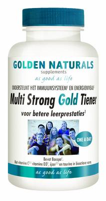 Golden Naturals Multi strong gold tiener 60vc