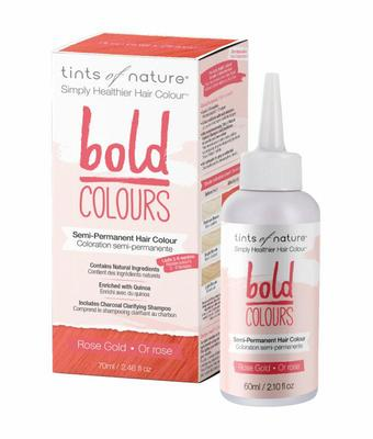 Tints Of Nature Bold rose gold 1set