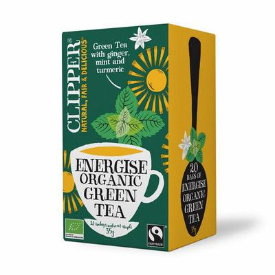 Clipper Energuse green tea 20st