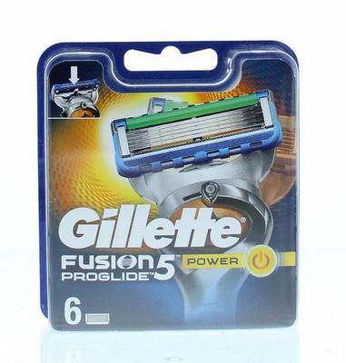 Gillette Scheermesjes Fusion Power Proglide 6stuks