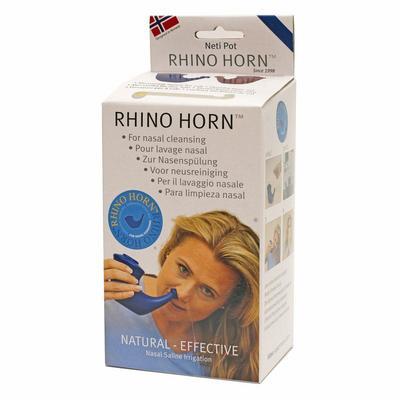 Rhino Horn Neusspoeler blauw 1st