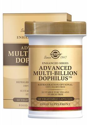 Solgar Advanced Multi-Billion Dophilus 60caps
