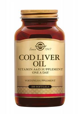 Solgar Cod Liver Oil 100