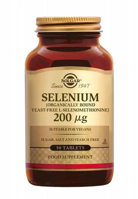 Solgar Selenium 200 µg 50tab